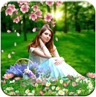 Garden Photo Background Editor: Garden Photo Frame