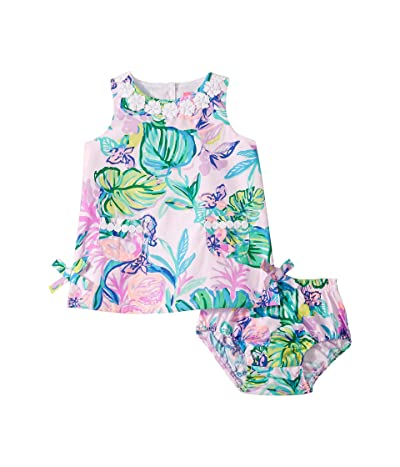 Lilly Pulitzer Kids Baby Lilly Shift Dress (Infant) (Amethyst Tint) Girl