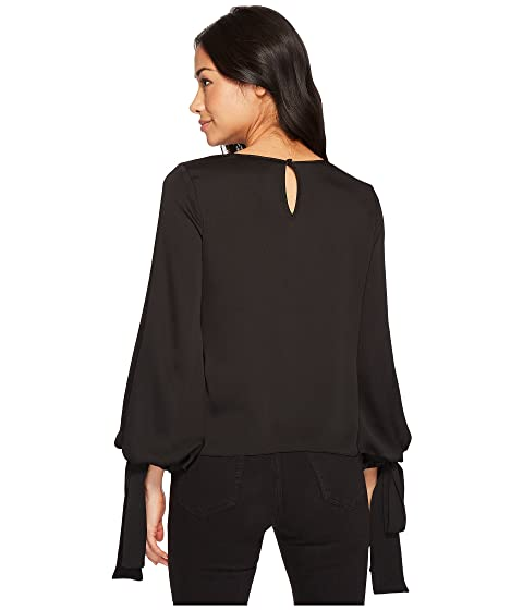 Cuff Bubble Size Vince Specialty Blouse Petite Camuto Tie Sleeve nYPwqwz6X
