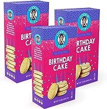 Goodie Girl Gluten Free Cookies, Birthday Cake Sandwich Cookies, Gluten Free Cookies Peanut Free Kosher Delicious Snack Cookies (10oz Box, Pack of 3)