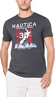 Nautica Men's SS North to South Island TEE