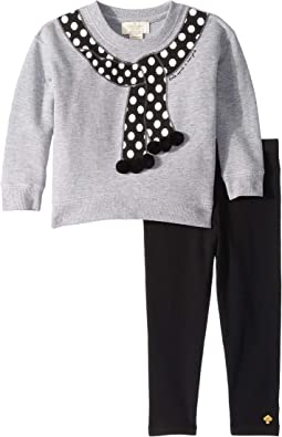 Kate Spade New York Kids - Trumpe L'Oeil Leggings Set (Toddler/Little Kids)