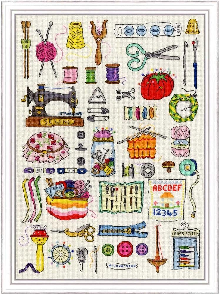Bothy Threads Sewing Counted Max 63% OFF Kit Cross-Stitch online shop