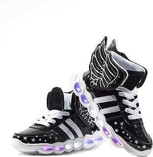 a7955d489 Usay like Envio 24 Horas Nuevo Modelo Zapatillas LED con 7 Colores Luces  Carga USB Dorado