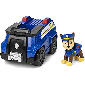 Paw Patrol Chase/'s Patrol Cruiser Vehicle Toy Collectible for kids 3yrs /& above