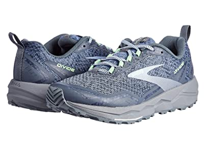 Brooks Divide (Grey/Turbulence/Green) Women