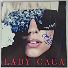 lady gaga autographed cd