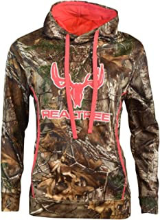 Cottonwood Canyon Realtree Women's Camo Logo Hooded Pullover Sweatshirt