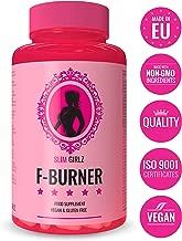 Slim Girlz Fat-Burner |60 Cápsulas Para Adelgazar|Quemador de Grasa Para Mujeres | 10 Ingredientes Activos Para Pérdida de Peso| Adelgazante Vegano Para Dieta Keto Sin Estimulantes |Hecho en la UE
