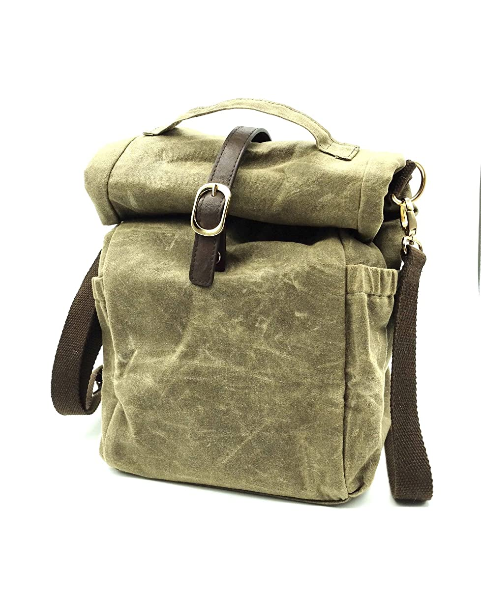 Practical Stylish Insulated Everyday Use Lunch Bag, Adjustable Durable Shoulder Strap - Perfect For Urban Professionals, Commuters, Students & Bag Lovers - Brown
