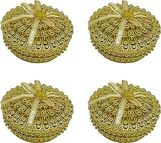 Confidence Combo Kumkum Box for Women, Jewellery Box for Earrings, Set of 4, 30 Gram, Pack of 1