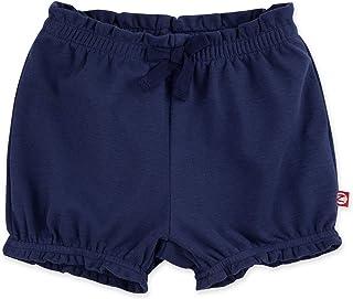 Zutano Baby Girl Organic Cotton Ruffle Shorts, Baby Bloomers