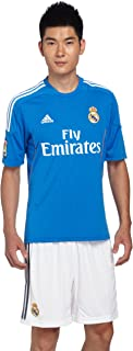 Adidas Camiseta de fútbol Infantil, 2ª equipación, 2013-14, Color Azul