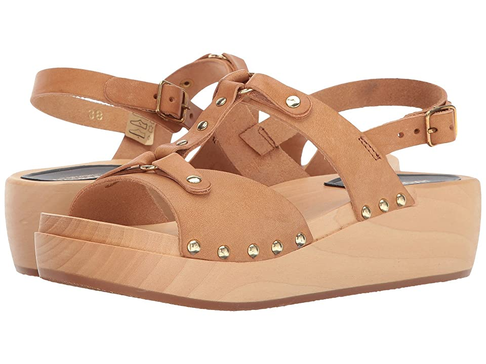 Swedish Hasbeens Rivet Sandal (Nature) Women