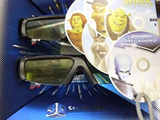 Samsung 3D Starter Kit - 2 pairs of Black 3D active glasses SSG-3100m/za