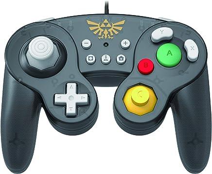 Controle Com Fio USB Wired Fight Pad Zelda Hori - Switch / PC
