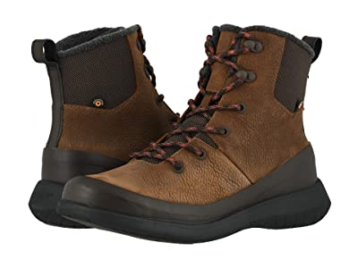 Bogs Freedom Lace Tall (Cinnamon) Men