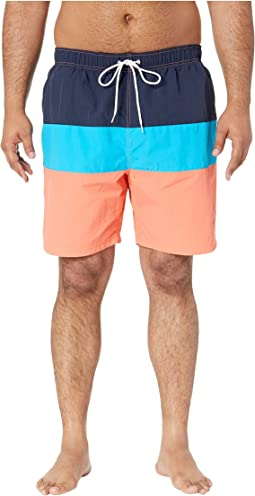 7485723720b132 Big & Tall Surf Washed Color Block Swim Trunks. $48.65MSRP: $69.50. Living  Coral. 7. Nautica ...