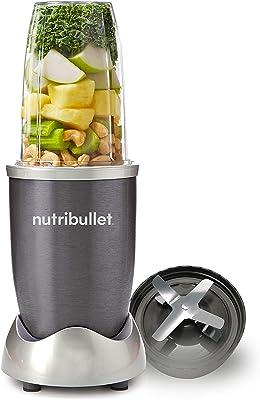 NUTRiBULLET 600 Series Starter Kit - Nutrient Extractor High Speed Blender - 600W 5 Piece Set - Graphite
