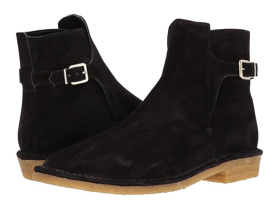 Clergerie Dow01 Suede Boot (Black) Men