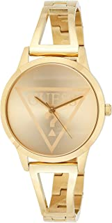 GUESS W1145L3 analog Stainless Steel Dress Watch For Women - Gold