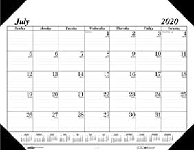 product image for House of Doolittle 2020-2021 Monthly Desk Pad Calendar, Academic, Economy, 22 x 17 Inches, July - August (HOD12502-21)
