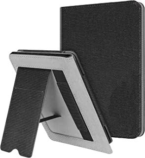 Capa Kindle Paperwhite 10ª geração à prova d'água - Multi - Alça de Leitura e apoio mesa - Preta