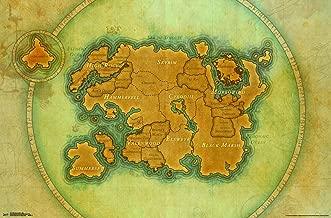 Trends International Elder Scrolls: Online-Map Wall Poster, 22.375