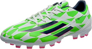 Bota F10 TRX AG Core white-Rich blue-Solar green