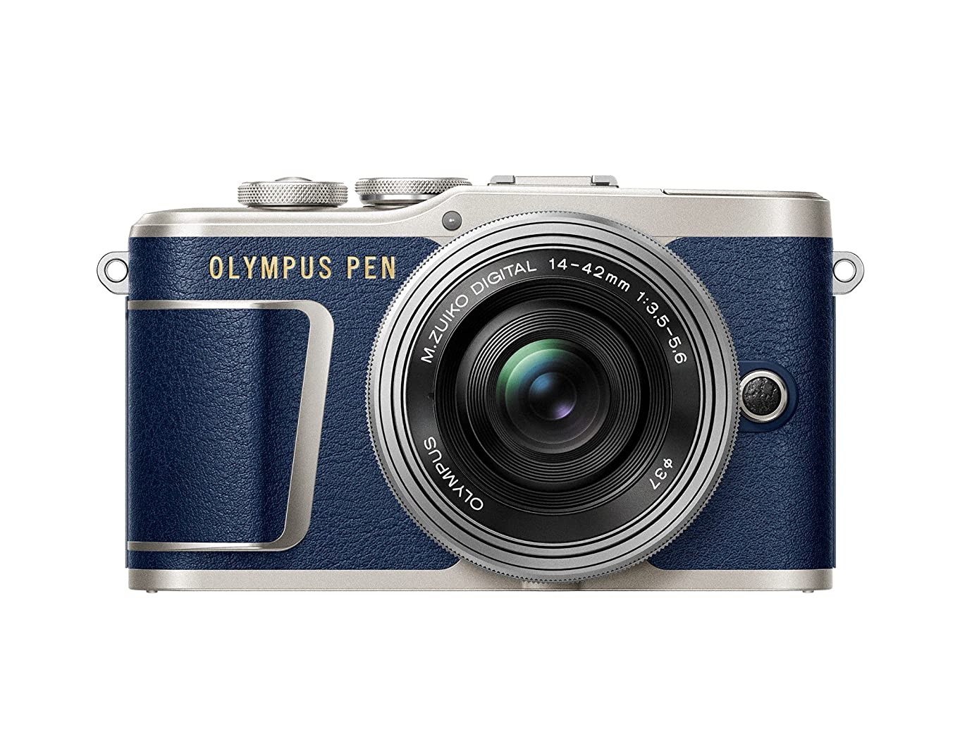 Olympus Pen E-PL9 Kit with 14-42mm EZ Lens, Camera Bag, and Memory Card (Denim Blue Limited Edition)