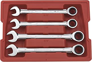 GEARWRENCH 4 Pc. 12 Point Ratcheting Combination SAE Wrench Set - 9309D