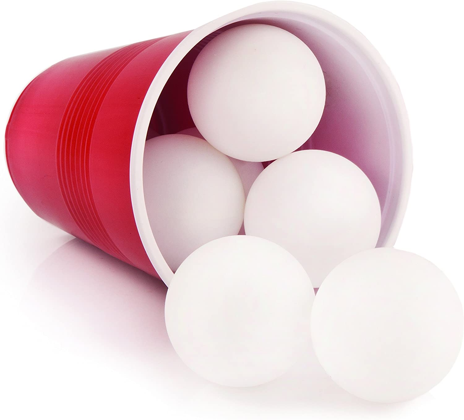 True Fabrications by Giftable Set of Six Ping Pong Balls for Beer Pong