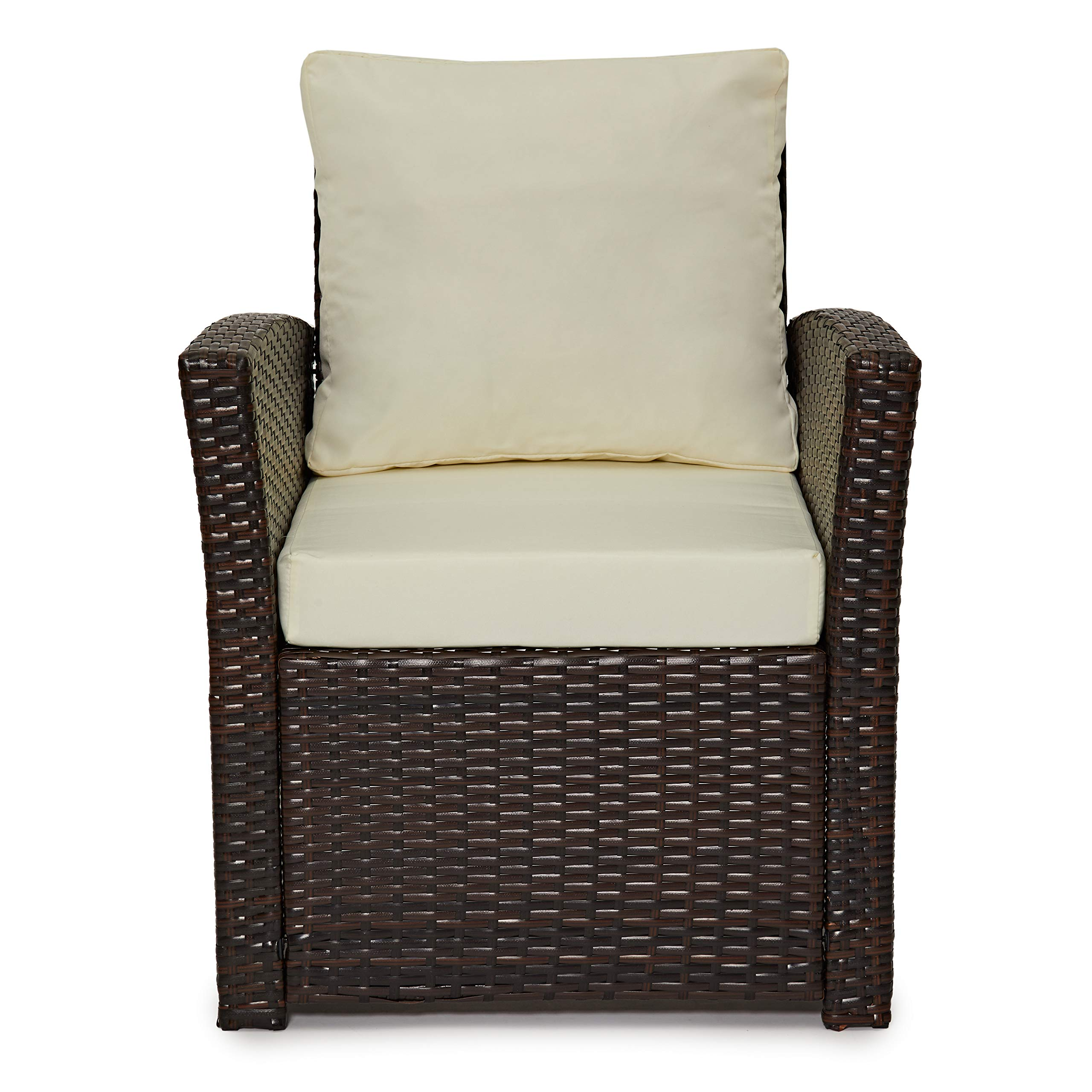 Juego de muebles de ratán Roma de Evre para jardín, exterior o ...