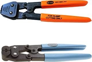 Oetiker 14100407-14100387 Hand Clamp Cutter and Compound Side Jaw Pincer, Combo (Pack of 2)