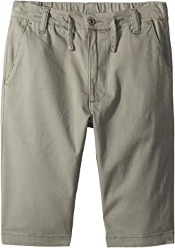 AG Adriano Goldschmied Kids - The Finn Sueded Twill Pull-On Shorts (Big Kids)