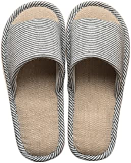LYMMC House Slippers,Women's and Men's Cotton Causal Soft Slippers Anti-Slip for Indoor and Outdoor