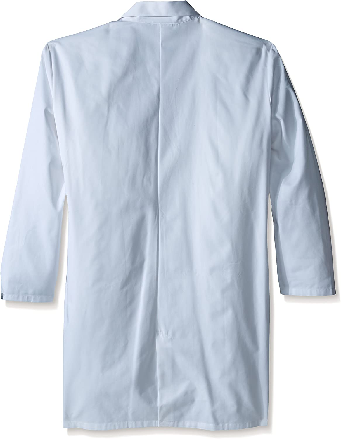 """CHEROKEE Men's Big and Tall Professional Whites with Certainty 40"""" Unisex Lab Coat Big & Tall in Twill: Clothing"""