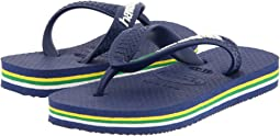 Brazil Logo Flip Flops (Toddler/Little Kid/Big Kid)