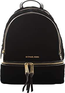 Rhea Zip Medium Backpack Black