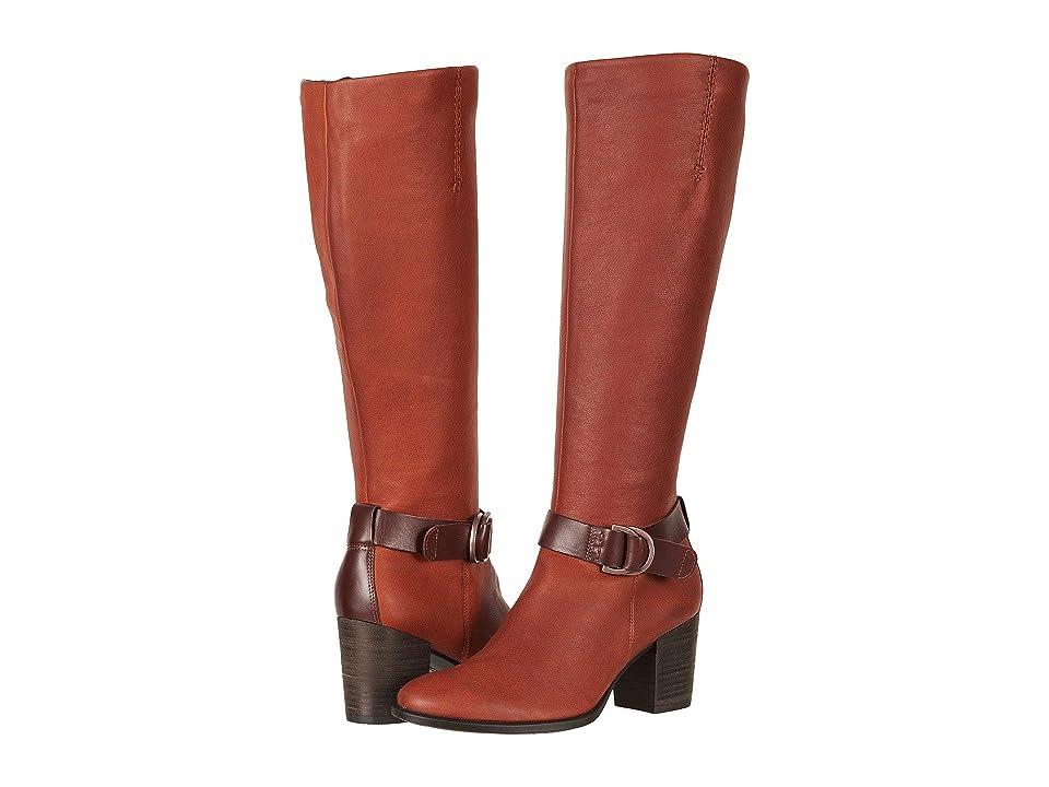 ECCO Shape 55 Tall Boot (Cognac/Mink) Women