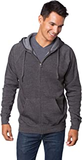 Global Blank Super Soft Fleece Sweatshirt Zip Up Hoodie for Men and Women