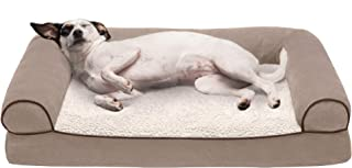 Furhaven - Ergonomic Contour & Plush Orthopedic L-Shaped...