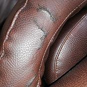 Kit de Reparación de Cuero y Vinilo. Reparaciones y Retoques Rasguños, Manchas y Grietas para Muebles, Asientos de Autos, Zapatos o Bolsos. Colores ...