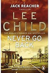 Never Go Back (Jack Reacher, Book 18) Kindle Edition
