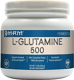 MRM L-Glutamine 500, 17.6-Ounce Plastic Jar