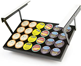 """Under Cabinet Coffee K-Cup(tm) Holder (Patented Technology) 13"""" Wx9 Lx1 H"""