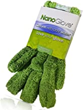 Nano Glove - Green Household Kitchen Cleaning Hand Glove   Replaces Paper Towels Microfiber Wipe Cloths & Feather Dusters...