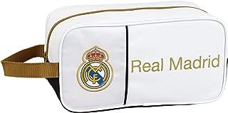 Real Madrid CF 811954682, Zapatillero Unisex niños, Blanco, 29x15x14