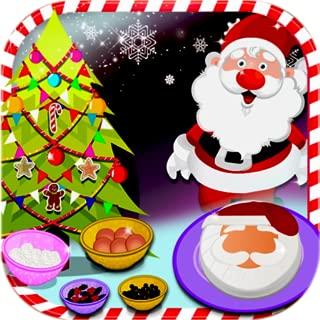 Creamy Santa Cake