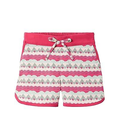 Columbia Kids Sandy Shorestm Boardshorts (Toddler) (Cactus Pink Striped Peaks) Girl